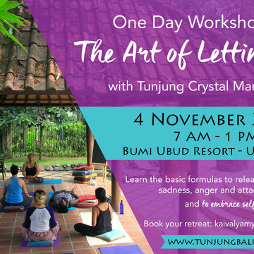 The Art of Letting Go - November 1-Day Workshop