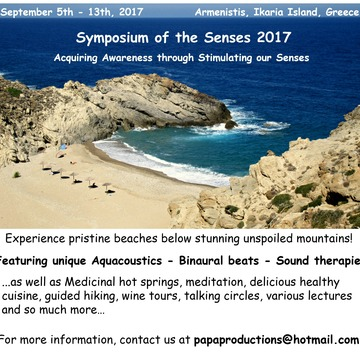 2nd Annual Symposium of the Senses 2017 Ikaria Island, Greece