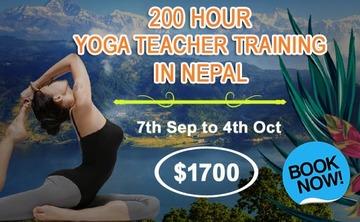 200 Hour Yoga Teacher Training Program in September, Nepal