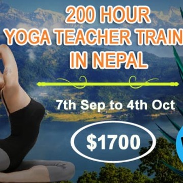 200 Hour Yoga Teacher Training Program in September, Nepal