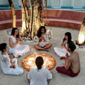 6 Night Retreat in Goa, India – Yoga Alchemy to Release & Let Go part 1