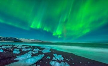 Night Lights Iceland Yoga Adventure