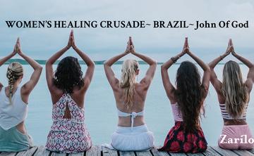 Women's Healing Crusade to John Of God. Brazil.