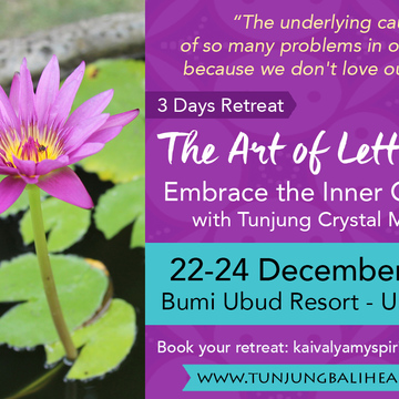 The Art of Letting Go - December 3 Days Retreat